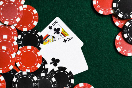 Ace King Suited - Texas Hold'em Poker