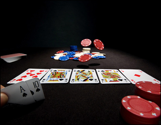 playing poker games